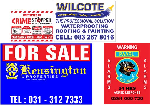 Estate Agent Boards and Signs