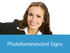 Photoluminescent Symbolic Signs